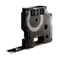 View more details about Dymo D1 Standard Label Tape White on Black - S0720610