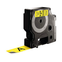 View more details about Dymo D1 Standard Label Tape Black on Yellow - S0720880