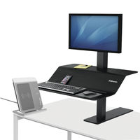 View more details about Fellowes Lotus VE Sit-Stand Workstation - Single - 8080101