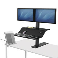View more details about Fellowes Lotus VE Sit-Stand Workstation - Dual - 8082001