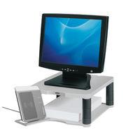 View more details about Fellowes Premium Monitor Riser Platinum - 9171701