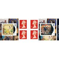 1st Class Stamps x 6 Pack - (Postage Stamp Book) - Elton John