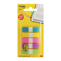 View more details about Post-it Portable Small Index Tabs, Pack of 100 - 683-5CB