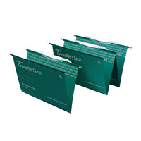 View more details about Rexel Crystalfile Suspension File Crystal Links Green (Pack of 50) 3000030