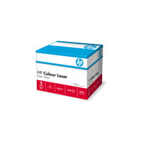 HP Colour Laser White A4 Paper, 90gsm, 2500 Sheets / 1 Box - CHP370