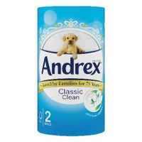 Andrex Classic Clean Toilet Roll, Pack of 24 - 75806