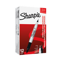 Sharpie Ultra Fine Black Tuck Marker   S0811180