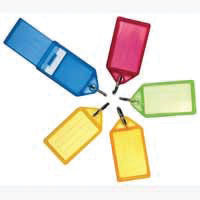Helix Assorted Large Sliding Key Fobs, Pack of 50 - F35020