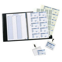 Durable Visitors Book Refill Sheets - Pack of 100 - 1464