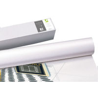 Q-Connect Matte White Plotter Paper 80gsm - 610mmx50m (Pack of 4) KF15169