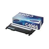 View more details about Samsung C406S Cyan Toner Cartridge - CLT-C406S/ELS
