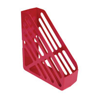 Basics Red Magazine Rack CP073KFRED
