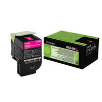 Lexmark 702HM Magenta High Yield Toner Cartridge