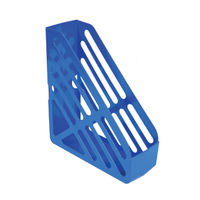 Q-Connect Blue Magazine Rack File - CP073KFBLU