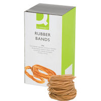 Q-Connect Size 18 Rubber Bands, 500g Box - KF10526