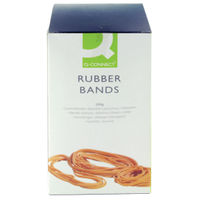 Q-Connect Assorted Rubber Bands, 500g Box - KF10577