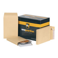 View more details about New Guardian Manilla Gusset Envelopes 130gsm - Pack of  100 - L27306