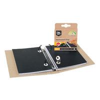 Fisher Clark Vinyl Reinforcement Rings - Pack of 1000 - 8215-1000