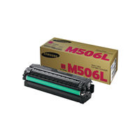 View more details about Samsung CLT-M506L Magenta Toner Cartridge - High Capacity CLT-M506L/ELS