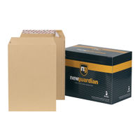 New Guardian Manilla C4 Peel and Seal Envelopes 130gsm, Pack of 250 - J26339