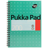 Pukka Pad A5 Wirebound Metallic Jotta Pads - Pack of 3 - JM021