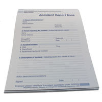 Wallace Cameron Accident Report Book - 5401015
