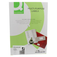 Q-Connect White 105 x 148mm Multi-Purpose Labels, Pack of 400 - KF01004
