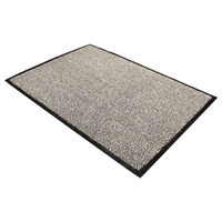 Floortex Black and White Doortex Dust Control Door Mat - 49120DCBWV