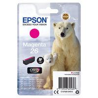 Epson 26 Magenta Ink Cartridge - C13T26134012