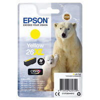 Epson 26XL Yellow Ink Cartridge - High Capacity C13T26344012