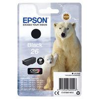 Epson 26 Black Ink Cartridge - C13T26014012