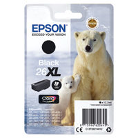 Epson 26XL Black Inkjet Cartridge C13T26214012