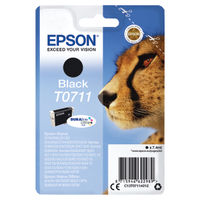 View more details about Epson T0711 Black Ink Cartridge - C13T07114012