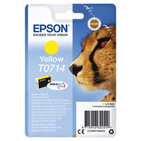 Epson T0714 Yellow Ink Cartridge - C13T07144012
