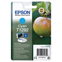 View more details about Epson T1292 Cyan Ink Cartridge C13T12924012