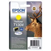 Epson T1304 Yellow Ink Cartridge - Extra High Capacity C13T13044012