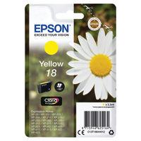 Epson 18 Yellow Ink Cartridge - C13T18044012