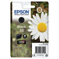 Epson 18 Black Ink Cartridge - C13T18014012