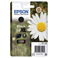 View more details about Epson 18XL Black Ink Cartridge - High Capacity C13T18014012