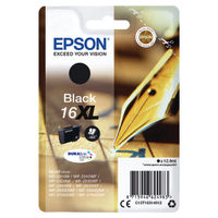 Epson 16XL Black Ink Cartridge - High Capacity C13T16314012