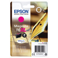 Epson 16XL Magenta Inkjet Cartridge - C13T16334012