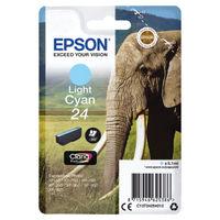 Epson 24 Light Cyan Ink Cartridge - C13T24254012