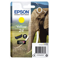 Epson 24 Yellow Ink Cartridge - C13T24244012