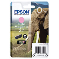 Epson 24 Light Magenta Ink Cartridge - C13T24264012