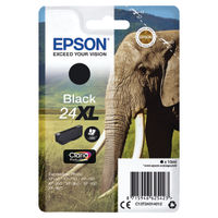View more details about Epson 24XL Black Ink Cartridge - High Capacity C13T24314012