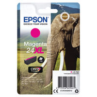Epson 24XL Magenta Ink Cartridge - High Capacity C13T24334012