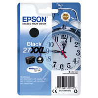 View more details about Epson 27XXL Black Ink Cartridge - Extra High Capacity C13T27914012