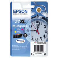 View more details about Epson 27XL Colour Ink Multipack - High Capacity C13T27154012