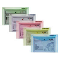 Snopake Polyfile Classic Assorted Foolscap Wallets - Pack of 5 - 10087