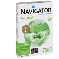 Navigator A4 Eco-Logical Paper 75gsm, Pack of 2500 - NAVA475